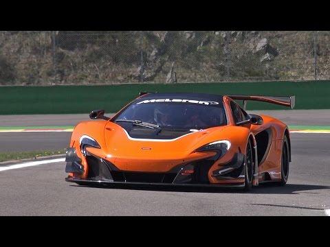 McLaren 650S GT3 - Lovely Sounds!