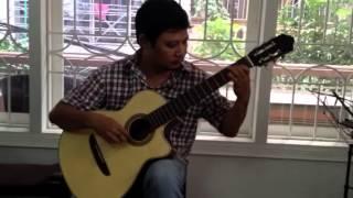 La vie en Rose - Lê Hùng Phong - Guitar Solo