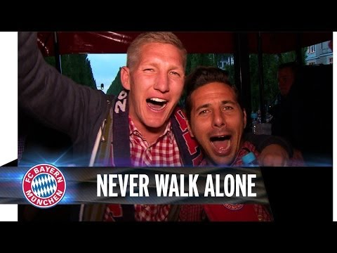 Big FC Bayern party in Munich