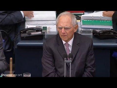 Bundestagspräsident Schäuble zu den Vorfällen in Chemnitz am 11.09.18