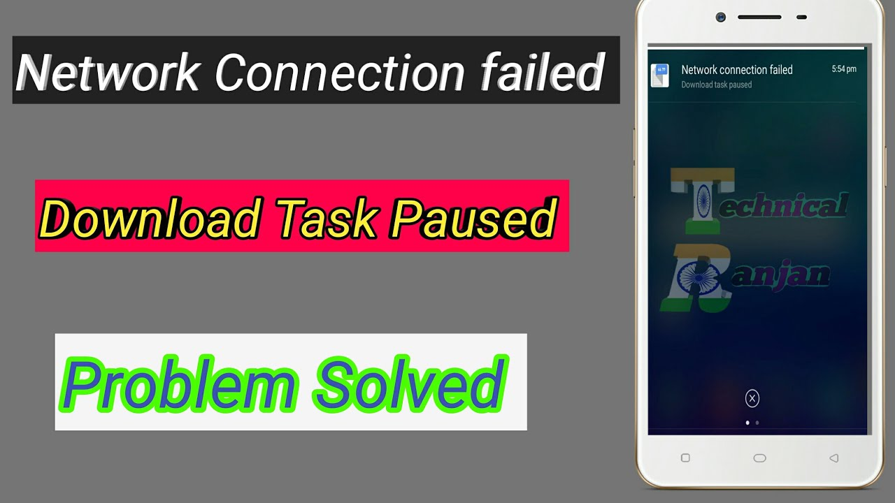 Network connection failed download task pause #OPPO mobile phone
