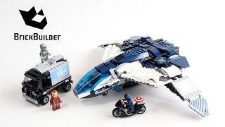 Lego Super Heroes 76032 The Avengers Quinjet City Chase - Lego Speed Build