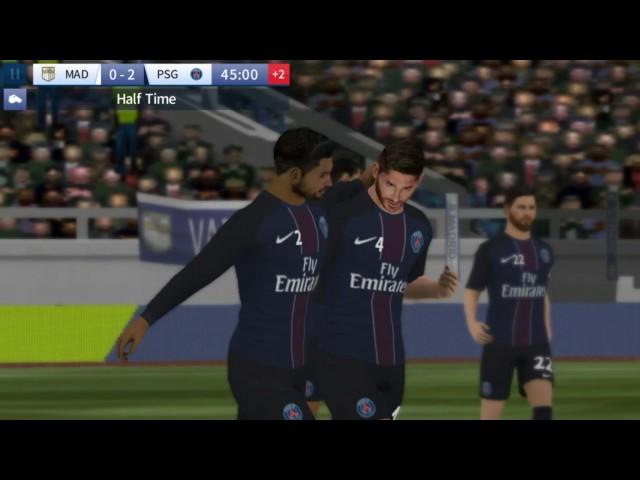 Deam League Soccer 2017 | Trận giao hữu giữa Paris và R Radrid |_Hiếu Pro
