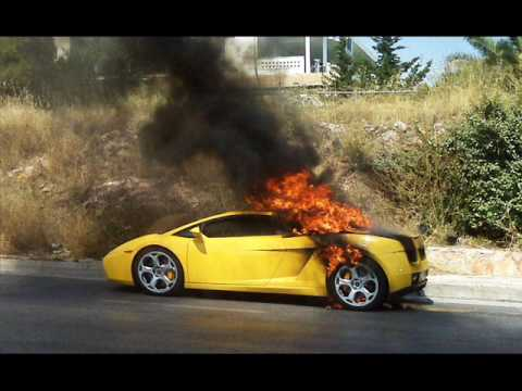 Super Cars On Fire Hd Youtube