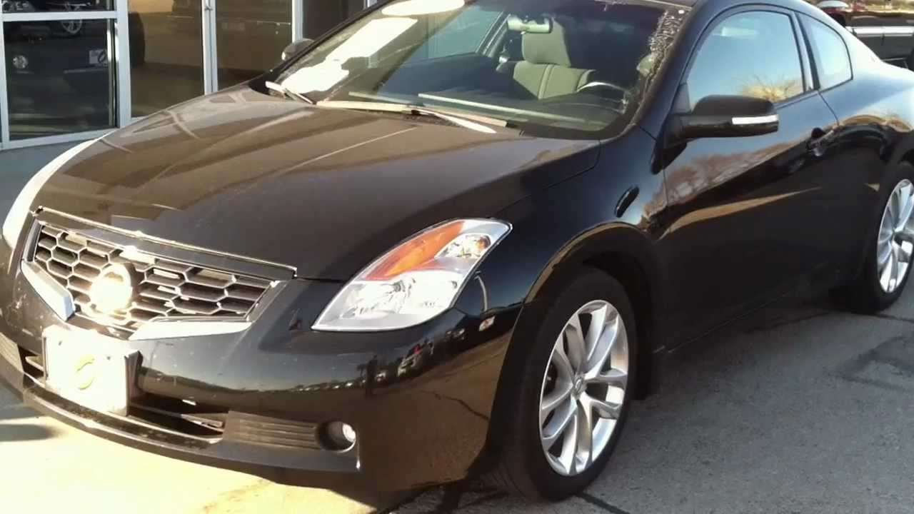 2009 Nissan Altima Coupe 3 5l V6 Youtube