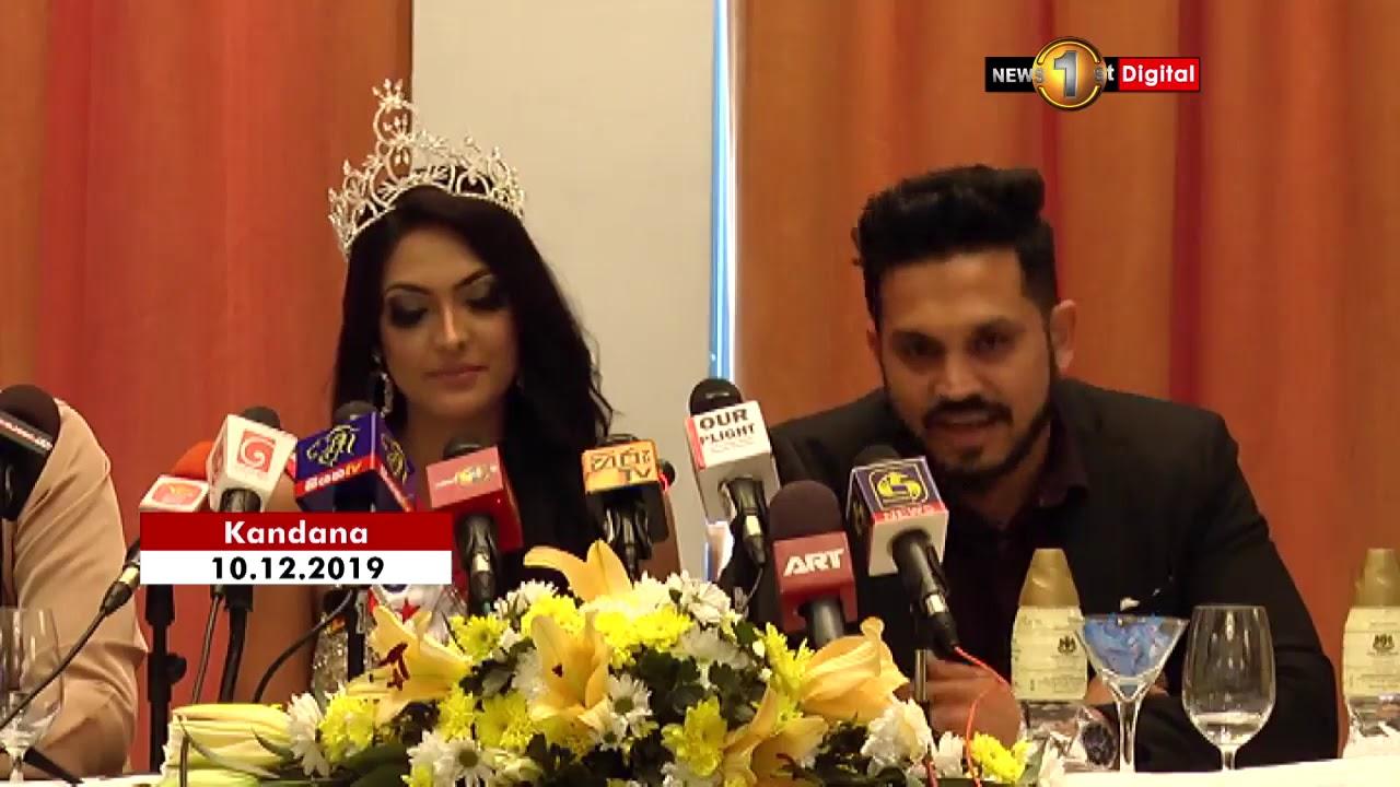 Caroline Jurie: Mrs World 2020 returns to Sri Lanka - YouTube