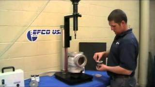 Consolidated Steam Safety Valve Repair with the EFCO TD-03 & TSV-150 - EFCO USA Resimi