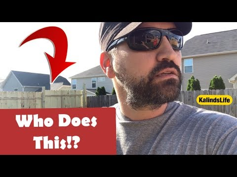 How 'NOT' to Install A Wood Privacy Fence! The WORST JOB EVER!