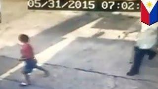 6-летний мальчик встал и пошёл после того как его переехала машина