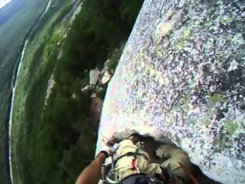 Climbing Reppy's Moby Grape Cannon Mountain