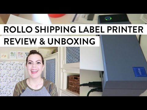 ROLLO Thermal Shipping Label Printer | Review & Unboxing