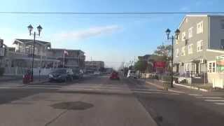 drive through seaside heights ocean ave nj new jersey shore ocean beach view travel guide