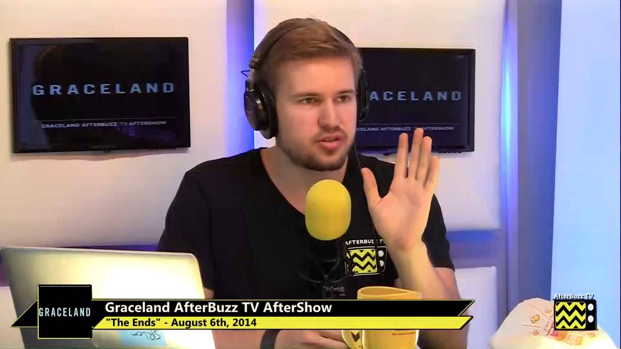 "Download Graceland After Show Season 2 Episode 8 ""The Ends"" | AfterBuzz TV"
