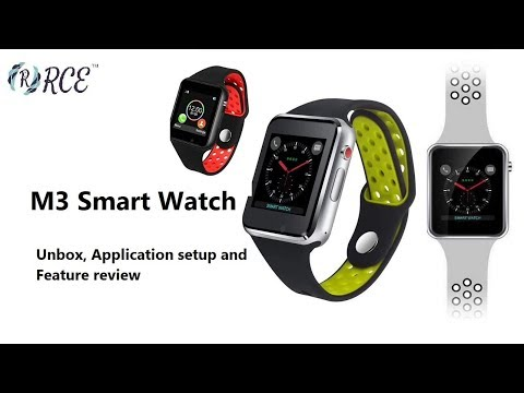 RCE -M3 Smart Watch Overview And Application Setup