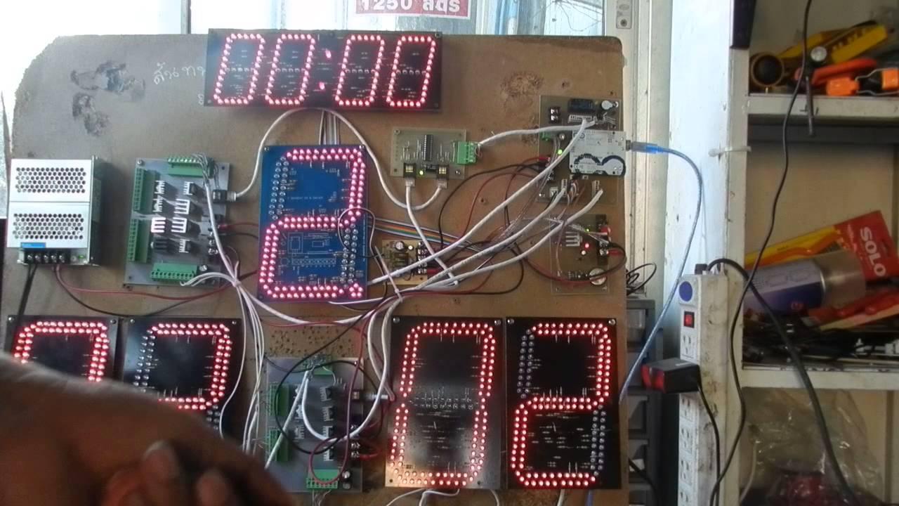 circuit scoreboard arduino youtube rh youtube com Automotive Wiring Diagrams Wiring Diagram Symbols