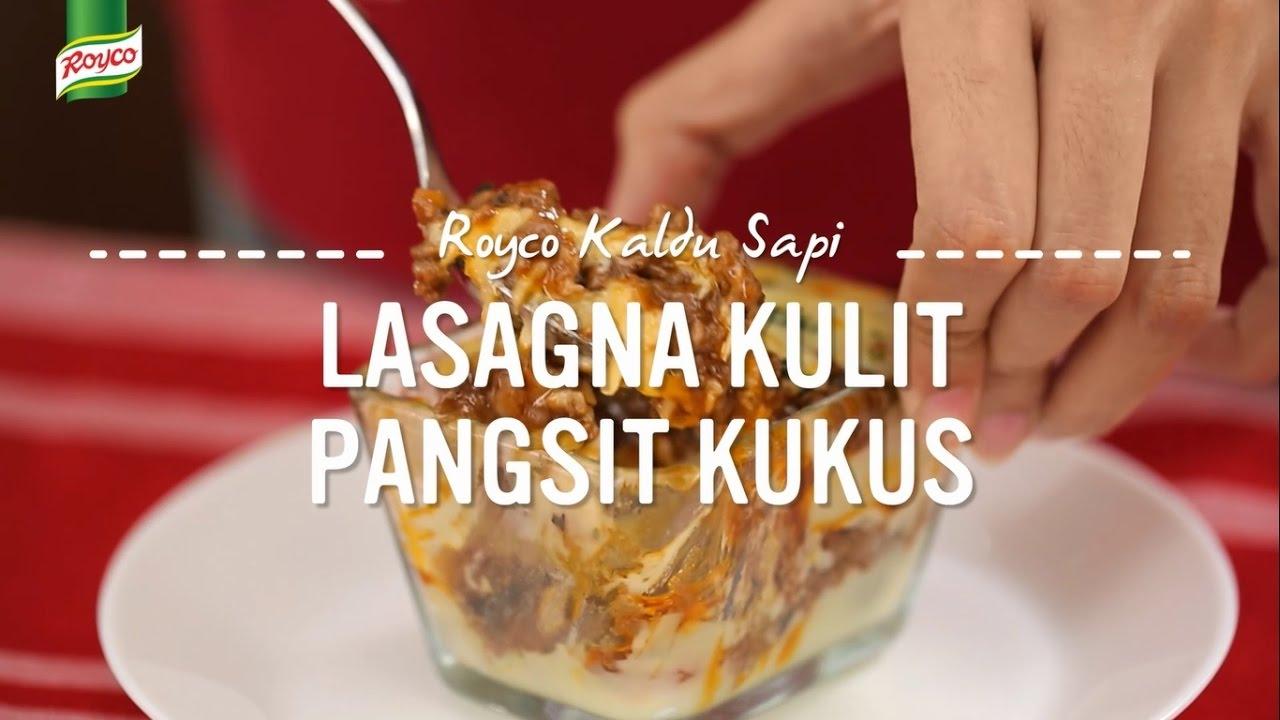Resep Royco Lasagna Kulit Pangsit Kukus Youtube