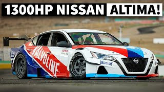 Chris Forsberg Built The World's Most Insane 1,300hp Nissan Altima. Just to Party!