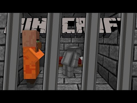 I'VE BEEN SENT TO PRISON... AGAIN!! (Minecraft Prison Escape)