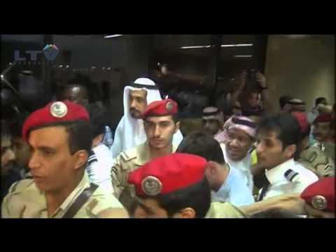 Argentina and Lionel Messi arrive in Saudi Arabia