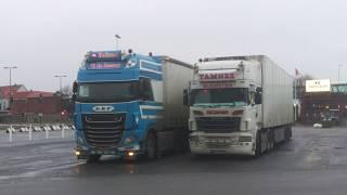Warm and Cold winterdays - Norway Trucking - WV 14