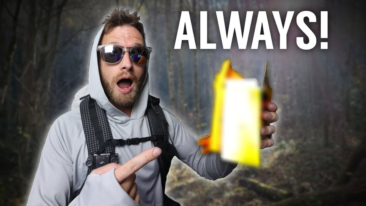Don't Forget To Bring THESE! | Backpacking Accessories I ALWAYS Bring