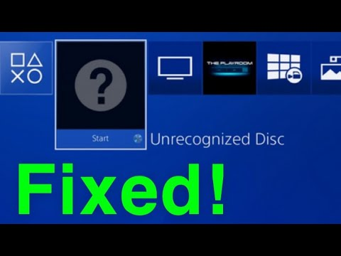 PS4 Unrecognized Disc HOW TO FIX!