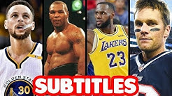 Best Sports Bars in Battle Rap History PART 1 SUBTITLES | ALL LEAGUES Masked Inasense