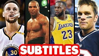 Best of Sports Bars in Battle Rap PART 1 SUBTITLES | ALL LEAGUES Masked Inasense