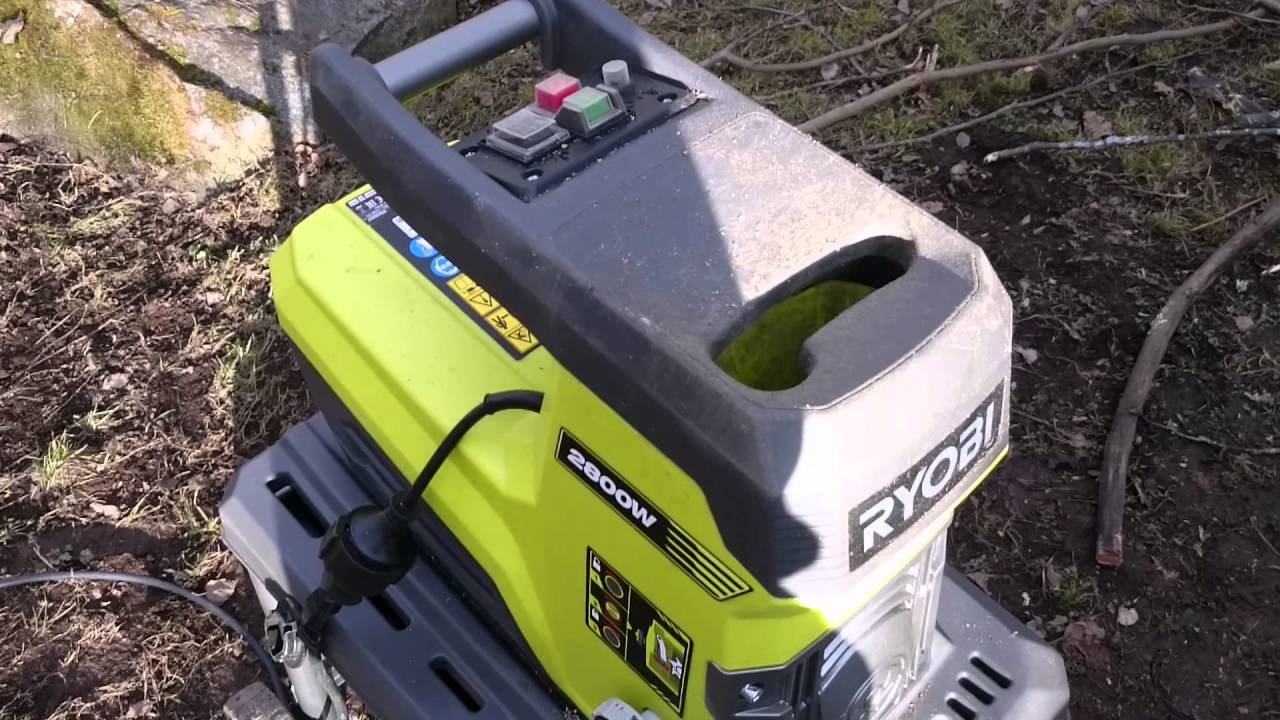 Ryobi RSH2845T garden shredder - YouTube