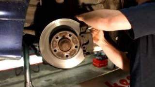 Remschijven en Remblokken montage video zelf vervangen