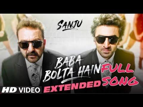 SANJU:Baba Bolta Hain Bas Ho Gaya Extended Version |Ranbir kapoor | Sanjay Dutt | Papon | Sanju Song