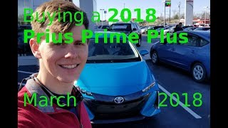 Prius Prime Plus 2018 Purchase/Review