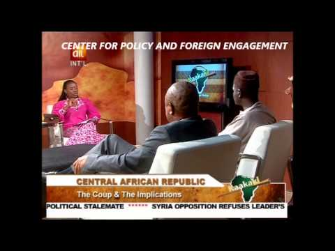 AIT Kaakaki Topic: Coup d'Etat in Central African Republic  - March 26, 2013