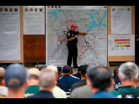 Carr fire AM update on Monday, July 30