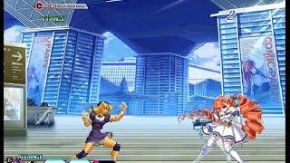 M.U.G.E.N Petra Johanna Lagerkvist(me) VS Hinako Shijou by OGko OGWo