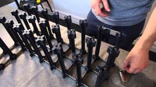 Nook Wine Racks Assembly Procedure