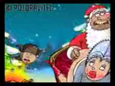 Дед мороз ебет снегурку видео