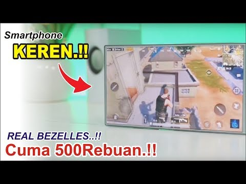 Rp.!! Review HP Real Bezelles TERMURAH.. Sharp Aquos Crystal 305SH