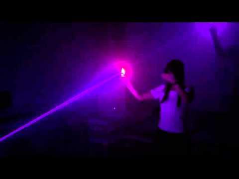 Laser Finger Tracking Test