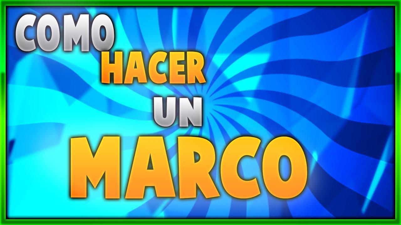 COMO HACER UN MARCO!! PARA TUS MINIATURAS!! (Tutorial) - YouTube