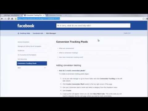 Facebook Conversion Tracking Pixel Setup Instructions How To Optimize Your Ads For Sales