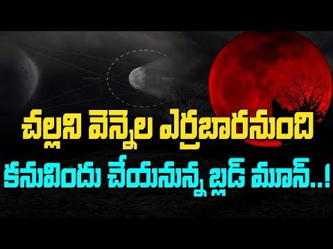 నింగిలో అద్భుతం జరగబోతోందా..?  | Super Blood Wolf Moon  | Count Down Begins | Bharat Today