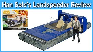 "Han Solo's Landspeeder with 3.75"" Han Solo Review"