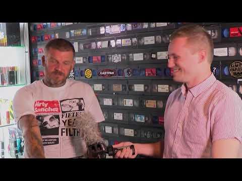 Exclusive chat with Dirty Sanshezs' Matthew Pritchard