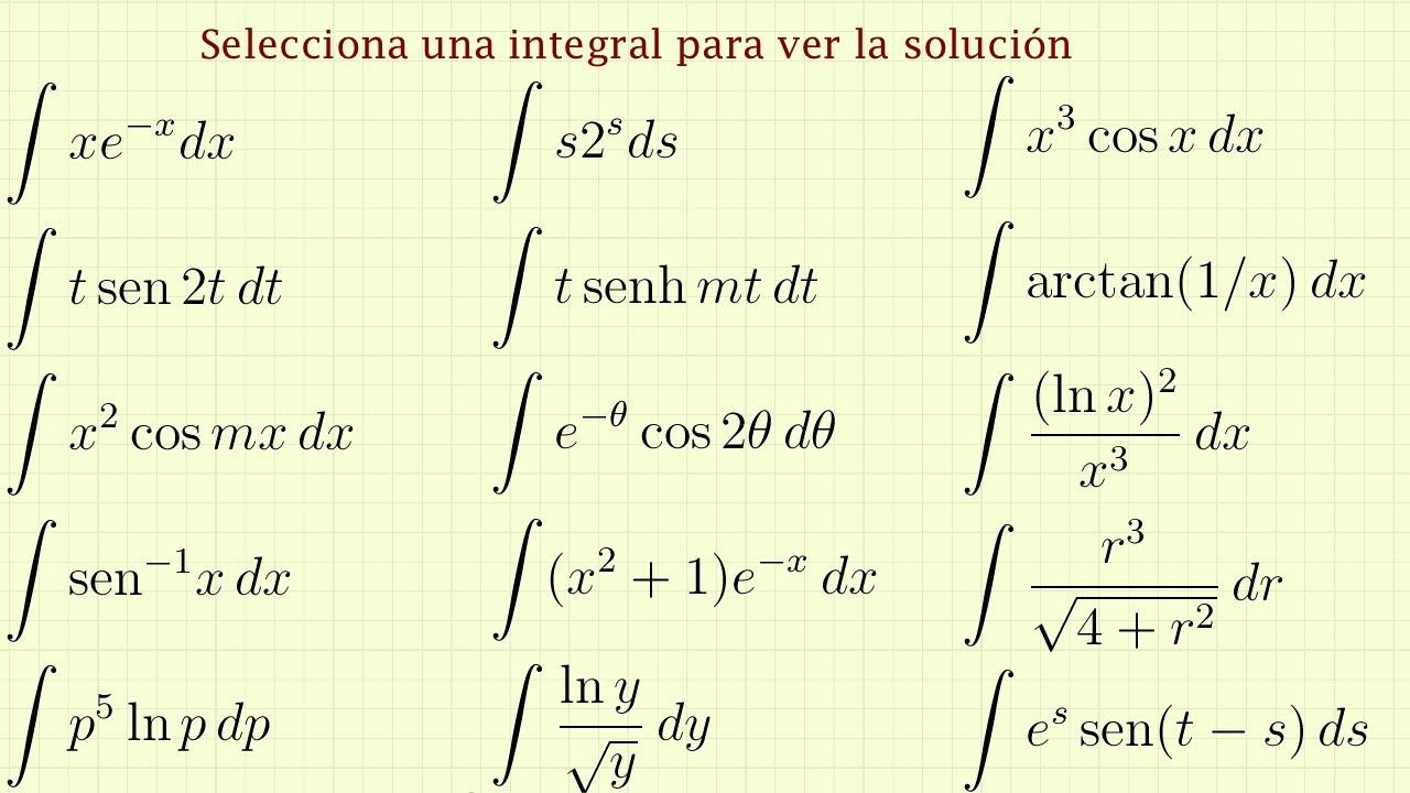 Integrales Trigonometricas Ejercicios Resueltos Download