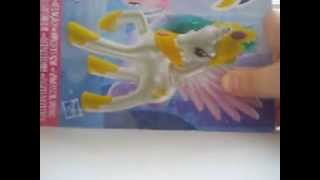 Распаковка и обзор набора Май литл пони с принцессой Селестией и Пинки Пай