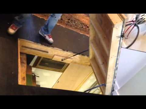 Floor Hatch ~ Gas Struts   YouTube