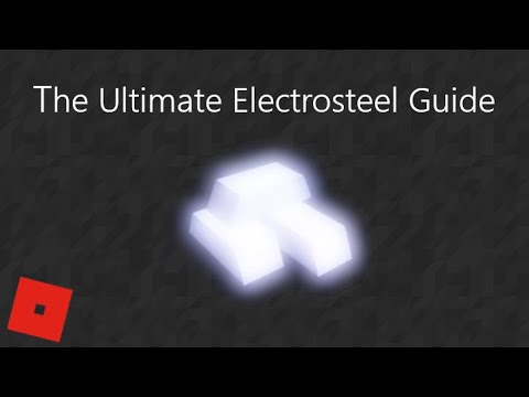 Roblox Tradelands Guides Electrosteel Youtube