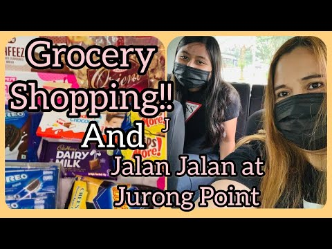 Bonding and Grocery Shopping at Jurong Point Singapore ( mini grocery )