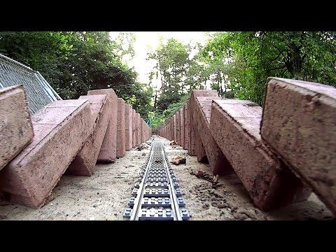 BRICK WORLD 3 Lego Train Layout DOMINO